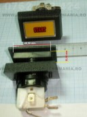 buton dreptunghilar aplicat 49,50 mm cu 32,50 mm
