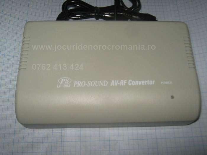 modulator video stereo